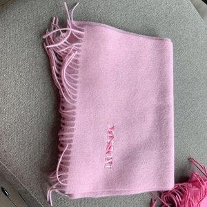 nwt light pink missoni wool scarf